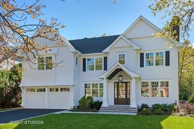 Glenview Single Family Home For Sale: 1029 Kings Lane