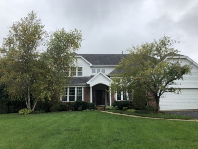 Libertyville Single Family Home Price Change: 29070 Old Rockland Road