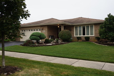 Orland Park Single Family Home For Sale: 8531 West 157th Street