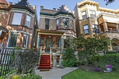 Single Family Home For Sale: 4113 North Kenmore Avenue
