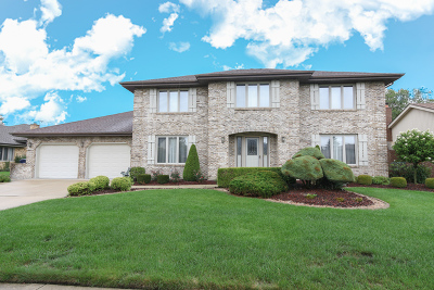 Orland Park Single Family Home Re-Activated: 7830 Sioux Road