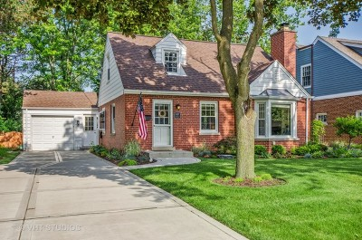 Glenview Single Family Home For Sale: 1207 Raleigh Road
