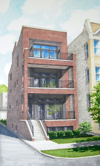 Condo/Townhouse For Sale: 1470 West Balmoral Avenue #2
