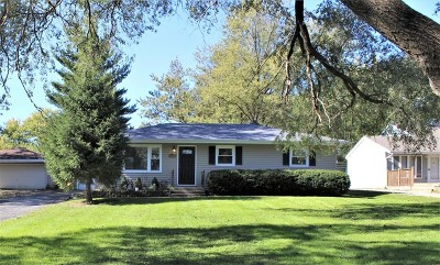 Downers Grove Single Family Home Price Change: 5908 Springside Avenue