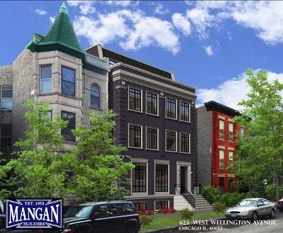 Chicago Condo/Townhouse New: 623 West Wellington Avenue #3