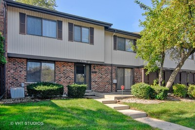 Downers Grove Condo/Townhouse For Sale: 7348 Winthrop Way #2