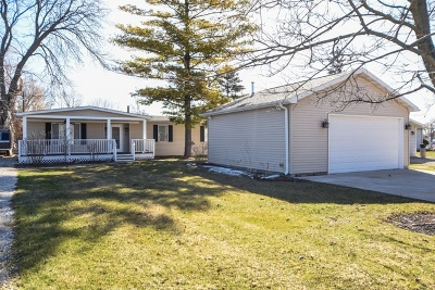 McHenry Single Family Home Price Change: 625 Kingston Boulevard