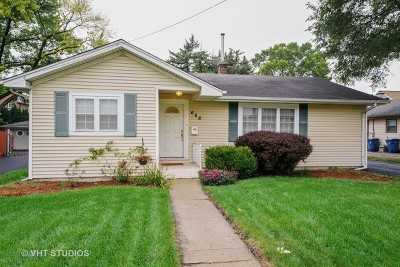 Du Page County Single Family Home For Sale: 656 South York Street