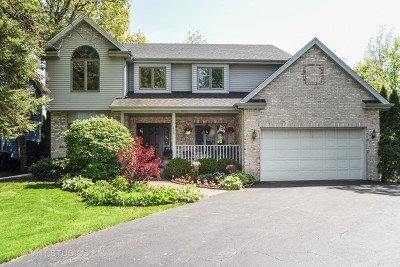Libertyville Single Family Home For Sale: 639 East Glendale Road