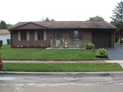 Romeoville Single Family Home For Sale: 737 Rogers Road