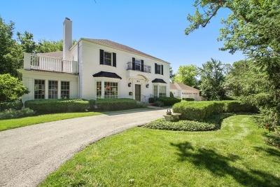Glenview Single Family Home For Sale: 855 Thornwood Lane