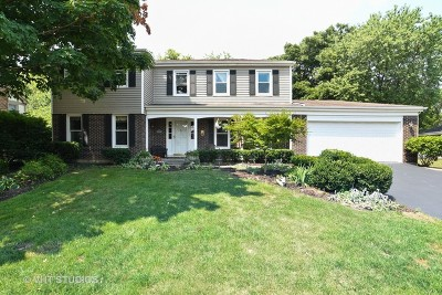 Libertyville Single Family Home For Sale: 623 Ridgewood Lane
