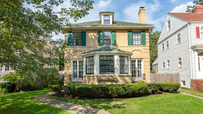 Wilmette Single Family Home For Sale: 240 Linden Avenue