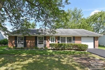Hanover Park Single Family Home For Sale: 7881 Berkshire Drive