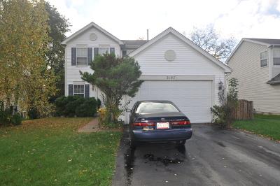 Carpentersville Single Family Home Price Change: 3107 Shenandoah Drive