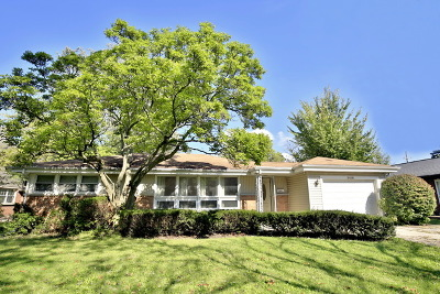 Glenview Single Family Home For Sale: 2416 Central Road