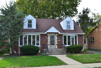 Evergreen Park Single Family Home For Sale: 9804 South Homan Avenue