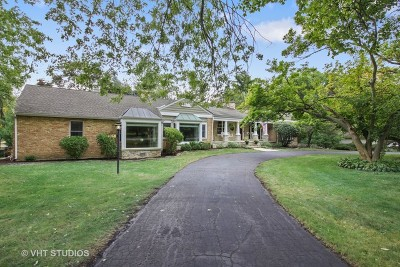Wheaton Single Family Home For Sale: 905 Warrenville Road