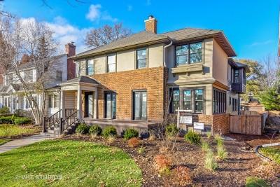 Evanston Single Family Home For Sale: 1519 Colfax Street