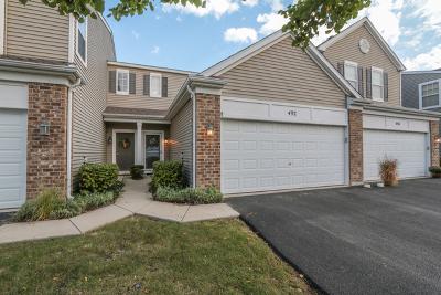 Oswego Condo/Townhouse For Sale: 492 Brookside Drive #492