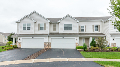 Pingree Grove Condo/Townhouse For Sale: 1454 Bar Harbor Court
