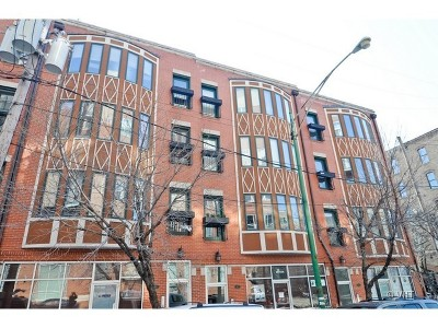 Condo/Townhouse For Sale: 821 West Superior Street #4