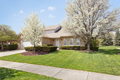 Orland Park Single Family Home New: 11818 Brookshire Drive