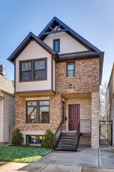 Single Family Home New: 4037 North Richmond Street