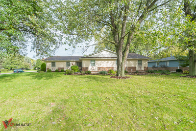 Plainfield Single Family Home Price Change: 16121 South River Road