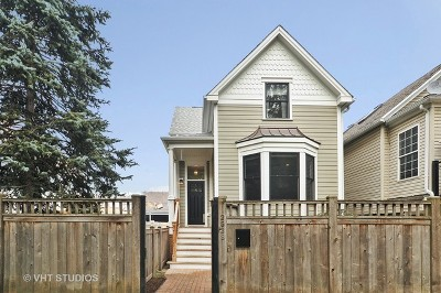 Single Family Home For Sale: 2538 West Medill Avenue