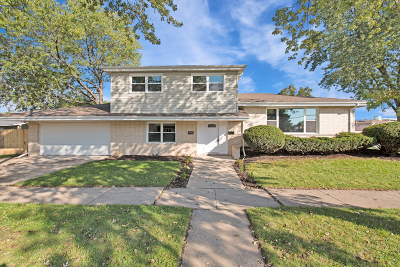 Oak Lawn Single Family Home For Sale: 9538 South Kilbourn Avenue