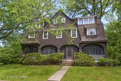 Wilmette Single Family Home For Sale: 103 Broadway Avenue