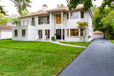 Winnetka Single Family Home New: 1247 Elm Street