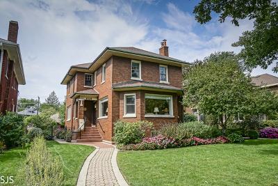 Oak Park Single Family Home For Sale: 1021 North Elmwood Avenue