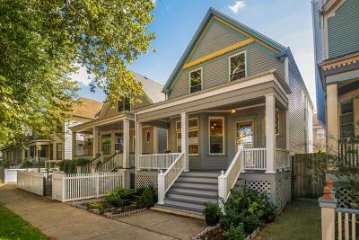 Chicago Single Family Home New: 1307 West Winona Street