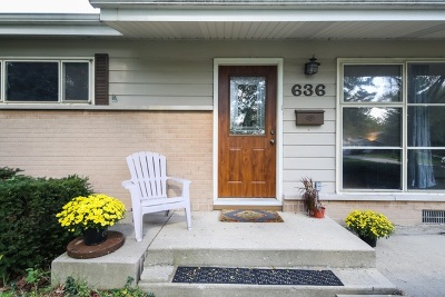 Villa Park Single Family Home For Sale: 636 West Pleasant Avenue