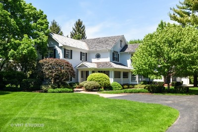 Libertyville Single Family Home For Sale: 1388 Lake Street