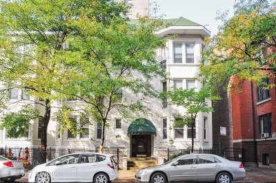 Condo/Townhouse For Sale: 4168 North Clarendon Avenue #1N