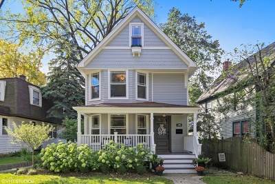 Western Springs Single Family Home For Sale: 1341 Walnut Street