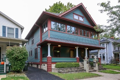 Single Family Home For Sale: 119 North Ellsworth Street