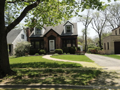 Flossmoor Single Family Home For Sale: 2310 Marston Lane