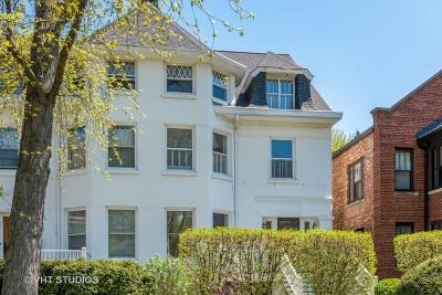 Evanston Single Family Home For Sale: 1235 Judson Avenue