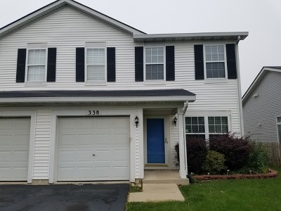 Romeoville Rental For Rent: 338 Richfield Trail