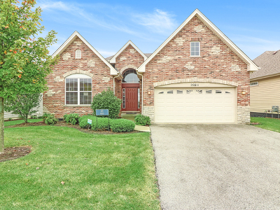 Plainfield Single Family Home New: 26611 Captiva Lane