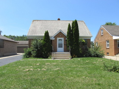 Crest Hill Single Family Home For Sale: 1821 Nicholson Street