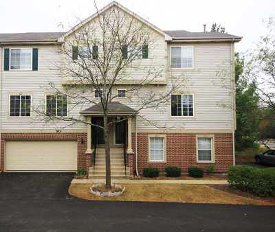 Streamwood Condo/Townhouse For Sale: 103 Monarch Drive