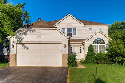 Romeoville Single Family Home For Sale: 1567 Lavender Drive