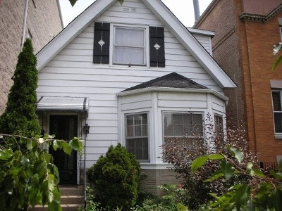 Single Family Home For Sale: 2847 North Damen Avenue