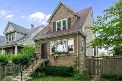 Chicago Single Family Home New: 4149 North St Louis Avenue