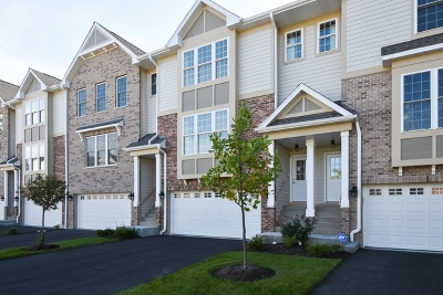 Buffalo Grove Condo/Townhouse For Sale: 2618 Chelsey Street